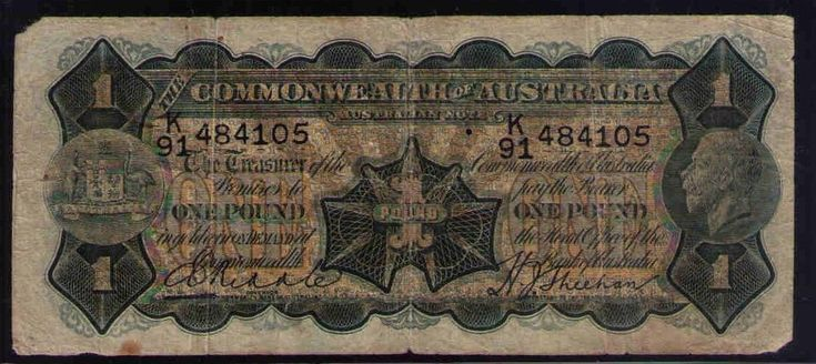 NO RESERVE AUCTION: Commonwealth of Australia R27-1 pound, RIDDLE SHEEHAN