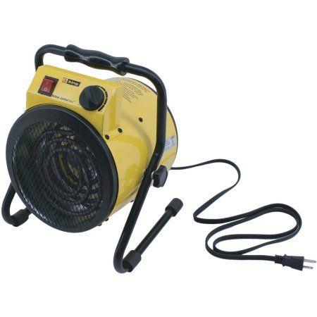 King PSH1215T 120V 1500W Portable Shop Heater, Yellow