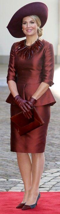 ♥•✿•QueenMaxima•✿•♥...Queen Máxima of the Netherlands - 15.10.2014