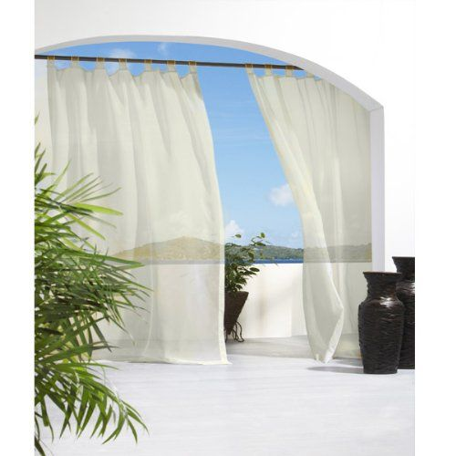 9 Best Images About Patio Curtains On Pinterest