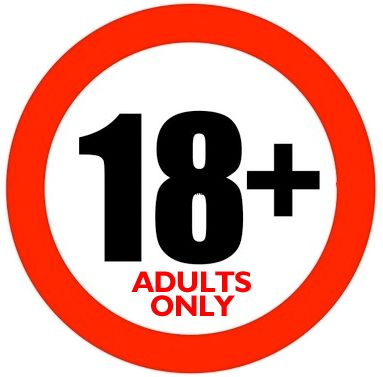 18 warning adults only