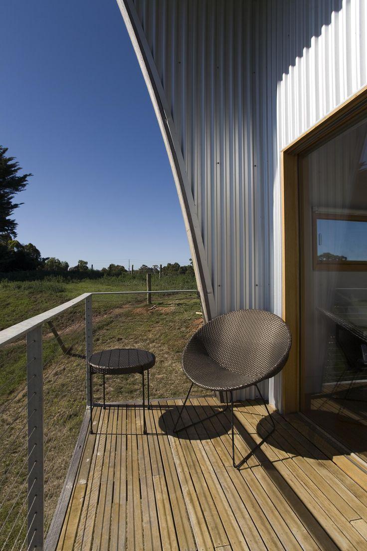 Temperature Design Hoop Chair @ Ark House in Bairnsdale by Stuart Harrson
