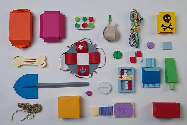 NINA paper models