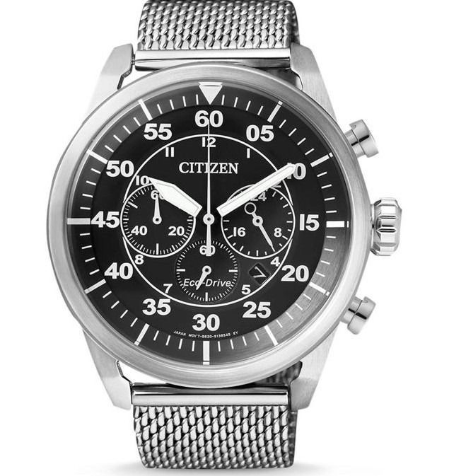 Citizen Crono Aviator Acciaio Eco Drive Limited Edition Ca4210 Homme 2020 Citizen Watch Mens Watches Citizen Mens Watches For Sale