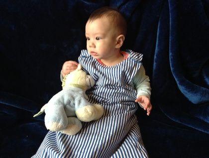 Blue Stripe   Baby Boy Sleepsack