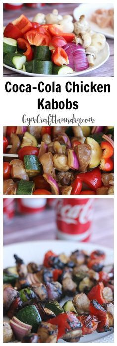 Coca-Cola Chicken Kabobs. This tasty marinade will have your family singing your praises!