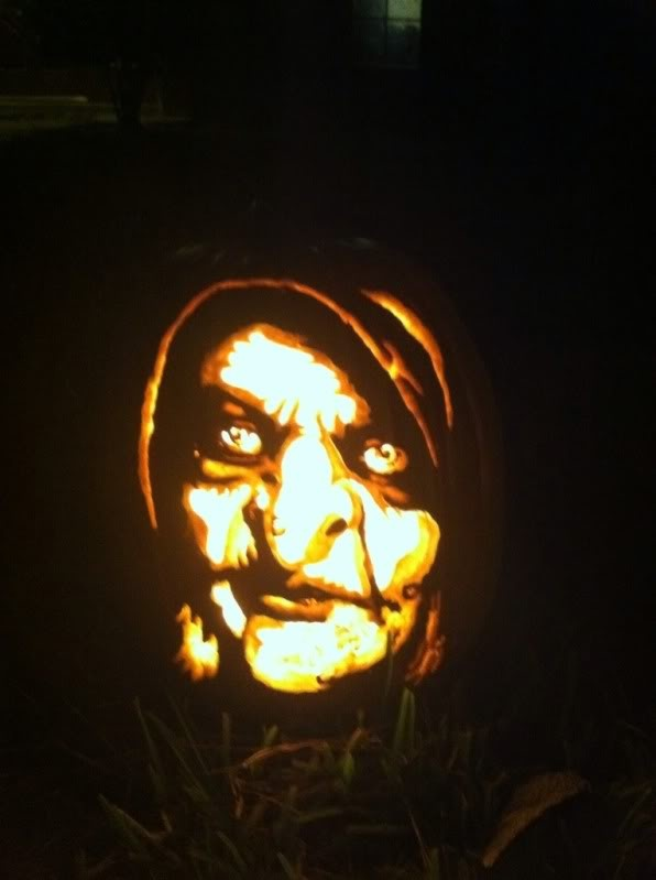 The Bell Witch Pumpkin Carved By Marshiekins Pumpkin