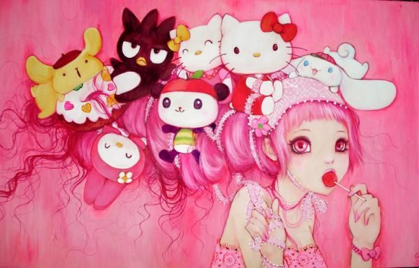 by camilla derrico - Cute & creepy, just my style :D