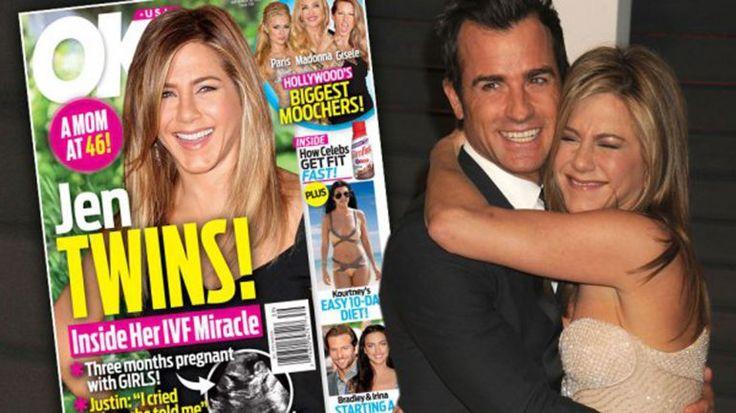 Rumor en Hollywood: Jennifer Aniston está embarazada de mellizas - Otros Artistas http://befamouss.forumfree.it/?t=71417214