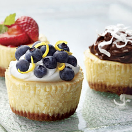 PHILADELPHIA Mini Cheesecakes Recipe   Key Ingredient