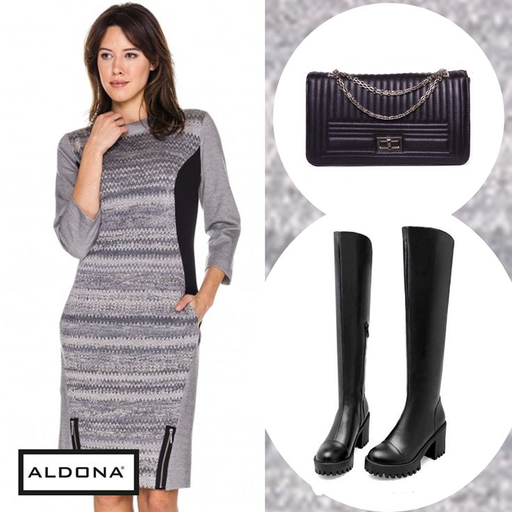 #aldona #fashion #aw2016 #fw2016 #outfit #inspirations #grey #dress