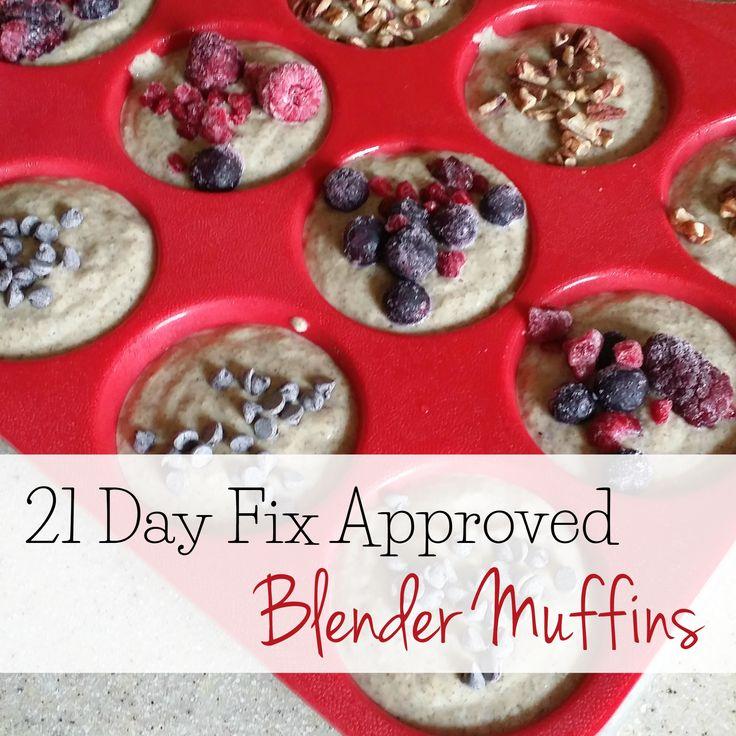 Blender Muffins via @kimberlyjob