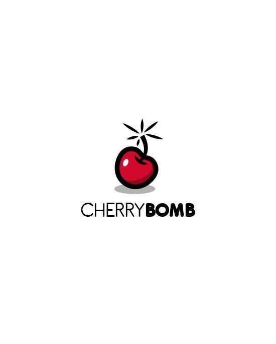 cherry bomb logo by