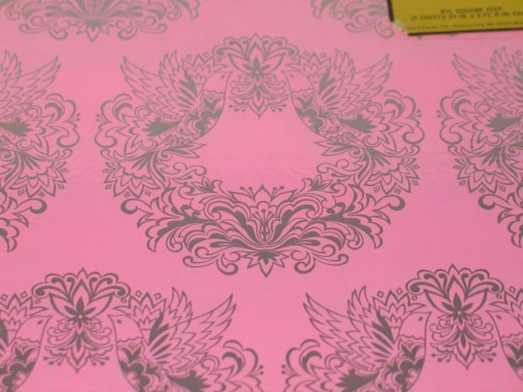 Sally Foster Gift Wrap Part - 40: Vintage Hallmark Pink Wedding Gift Wrap Wrapping Paper
