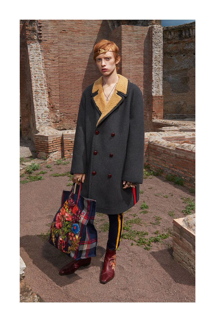 Gucci's Men's Cruise Collection 2018 Lookbook Has Arrived