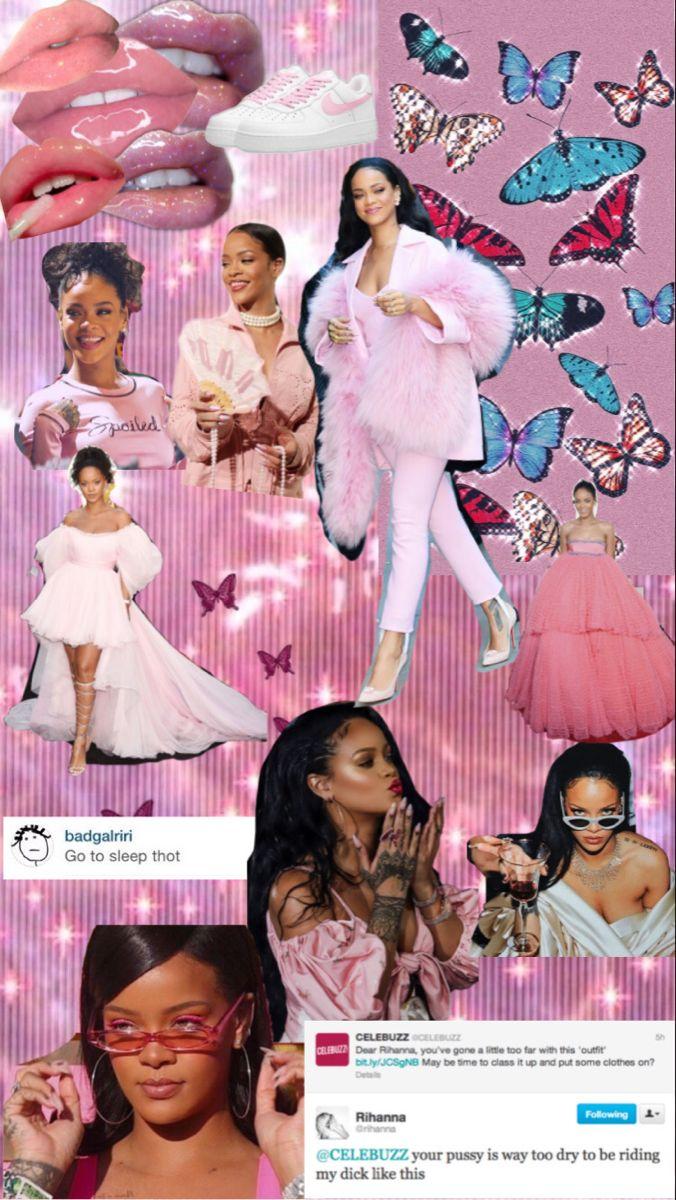 Rihanna Rihanna Photoshop Celebrities Cute Lockscreens