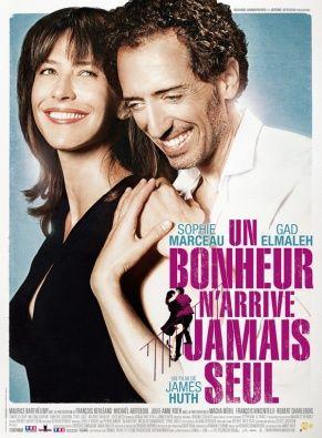 Un Bonheur n'arrive jamais seul avec Sophie Marceau et Gad Elmaleh