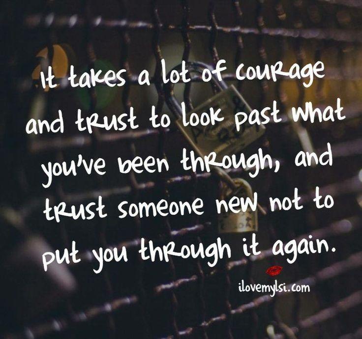Trust a new beginning
