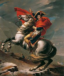 Napoleon Crossing the Alps - Wikipedia, the free encyclopedia