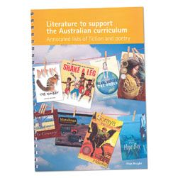 Literature to support the Australian curriculum - Fiction & Poetry