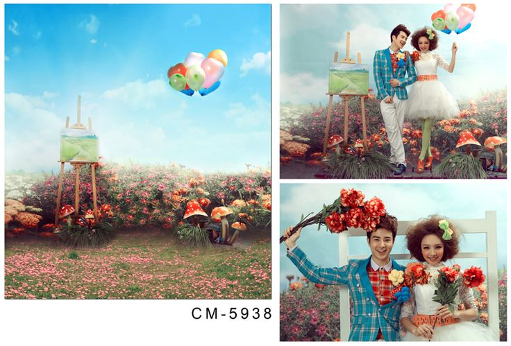 Flowers Backdrops 5x7FT Wedding Backgrounds Photography Backdrops Photo Studio Vinyl Backdrops For Photography Backdrops
