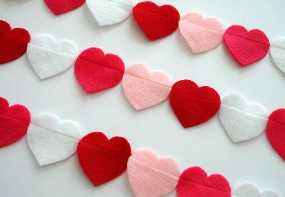 27 mejores im genes sobre decoraci n con corazones en - Decorar para san valentin ...