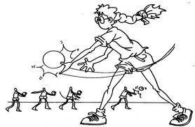 Saque de abajo - 211 - fundamentos de voleibol