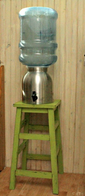 DIY stool (or water dispenser stand)