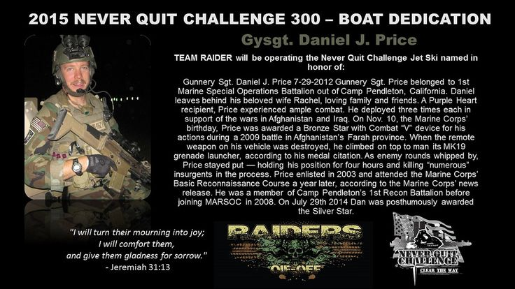 https://flic.kr/p/r3Gb83 | 2015 Never Quit Challenge 300 | 2015 Never Quit Challenge 300 is a Phoenix Patriot Foundation Jet Ski Program