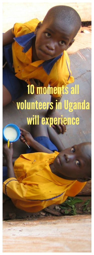 This is how volunteer abroad programs in Uganda go!