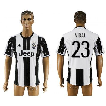 Juventuss 16-17 #Vidal 23 Hemmatröja Kortärmad,259,28KR,shirtshopservice@gmail.com