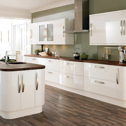 1000 Ideas About High Gloss Kitchen Cabinets On Pinterest