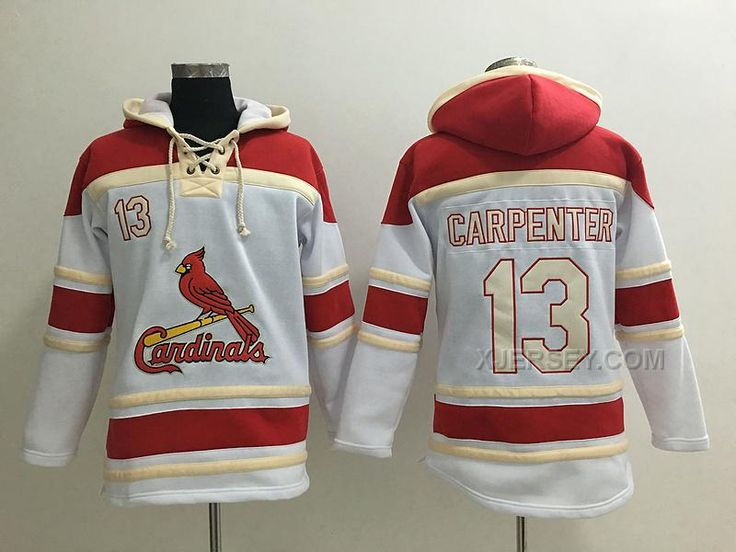 http://www.xjersey.com/cardinals-13-matt-carpenter-white-all-stitched-hooded-sweatshirt.html CARDINALS 13 MATT CARPENTER WHITE ALL STITCHED HOODED SWEATSHIRT Only $53.00 , Free Shipping!