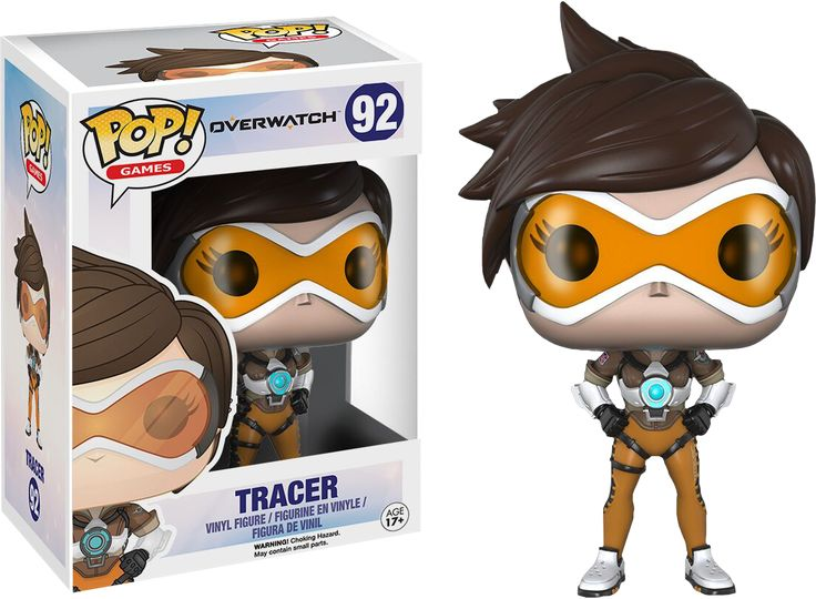 Tracer from Overwatch gets her very own Pop! And it's a bestseller