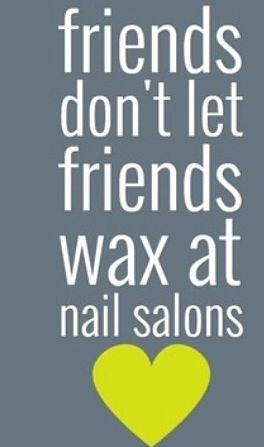 ♡pinterest↠ berrywifee  Definitely learned this the hard way. #Wax #Esthetician…