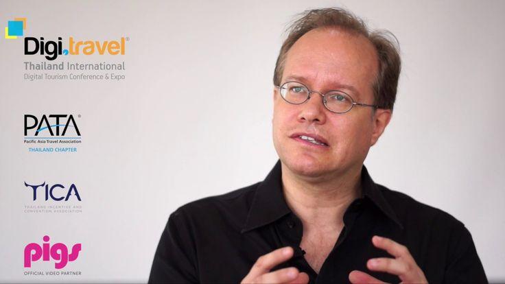 Jens Thraenhart, DIA Awards, for the 2nd Digi travel Conference & Expo i...
