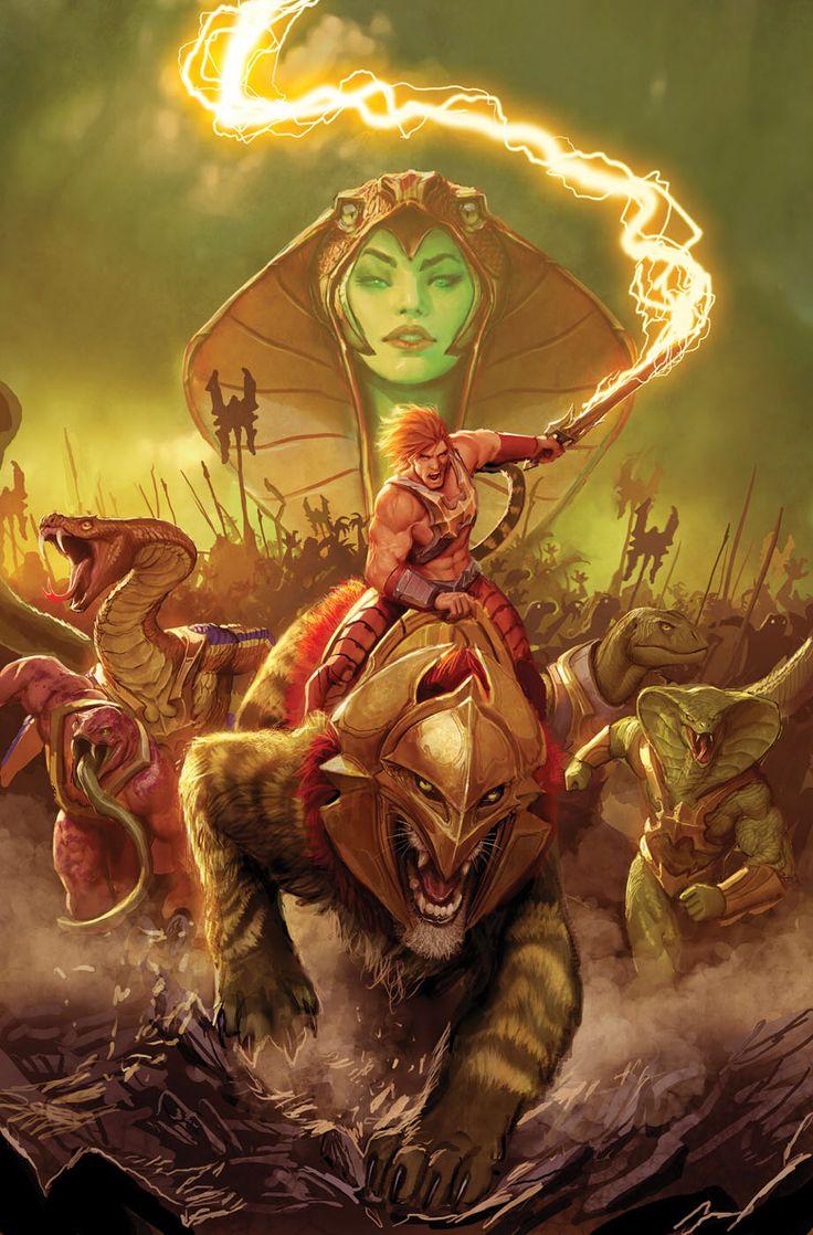He-Man: Battle for Eternity   #comics #motu #heman