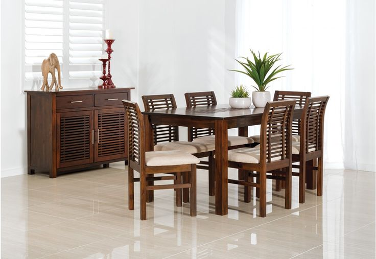 Madang 7 Piece Dining Suite | Super A-Mart | $699.00 as at 20150207
