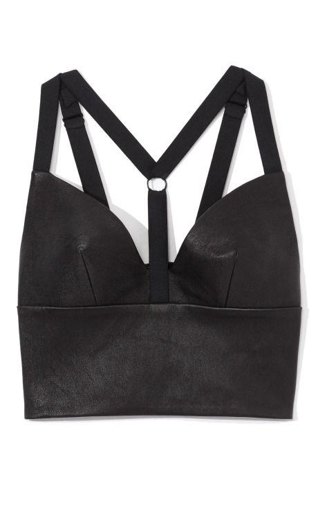 Cushnie et Ochs leather bra top...just what my life needs
