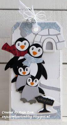 Anja Zom kaartenblog: Kerstkaartjes