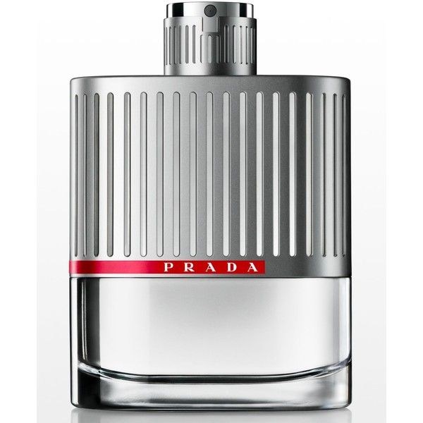 Prada Luna Rossa Eau de Toilette, 5.1 oz ($104) ❤ liked on Polyvore featuring men's fashion, men's grooming, men's fragrance, no color and prada mens fragrance