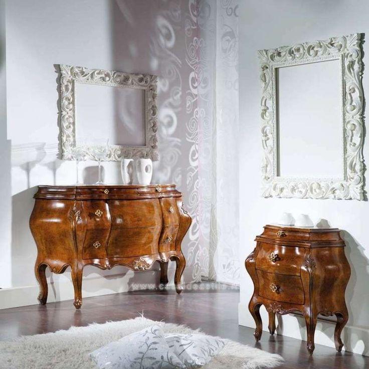 Comodini in legno antico - Comodini moderni in legno