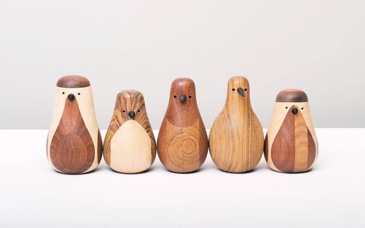 by Lars Beller Fjetland. Wood birds.