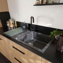 Les 25 meilleures id es de la cat gorie evier en granit - Evier de cuisine en granite ...
