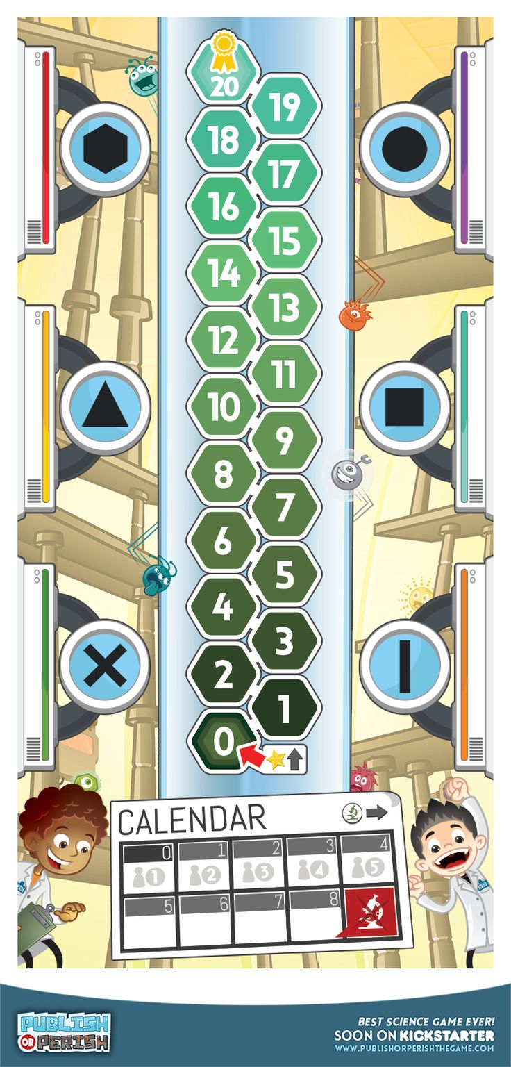 1 days for #Kickstarter? Panic!!!  The big board of the game! #boardgame #kids #science
