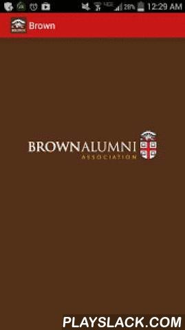 Brown Alumni Connect  Android App - playslack.com , You have a lifelong connection with Brown and fellow alumni. Brown Alumni Connect makes it easier to stay connected to Brown and one another.In this updated version of the official app of the Brown Alumni Association, you can access the entire alumni directory on the go.The app also offers updated reunion schedules, event calendars, social media content, campus maps and more.