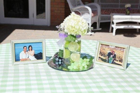 Mason Jars with Limes from the Bridal Shower: Shower Ideas, Rami Shower, Sarah Shower, Bridesmaid Shower Bachelorette, Mason Jars, Shower Theme, Bridal Showers, Baby Shower