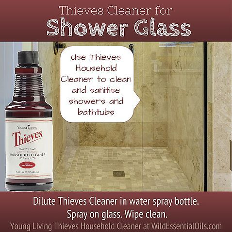 Remove that soap scum from shower glass easily with the thieves cleaner http www - How to keep thieves away from your home ...