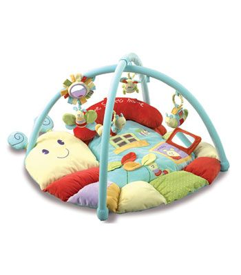 Buy your Little Bird Told Me Softly Snail Snuggle Time Playmat & Gym from Kiddicare Play Gyms| Online baby shop | Nursery Equipment