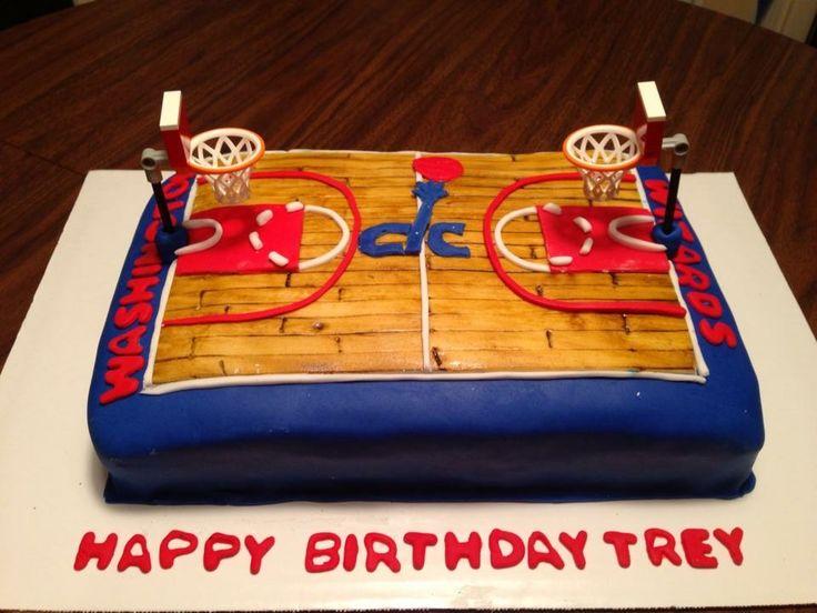 Washington Wizard birthday cake